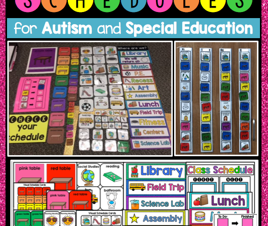 Visual Schedules for Autism and Special Education